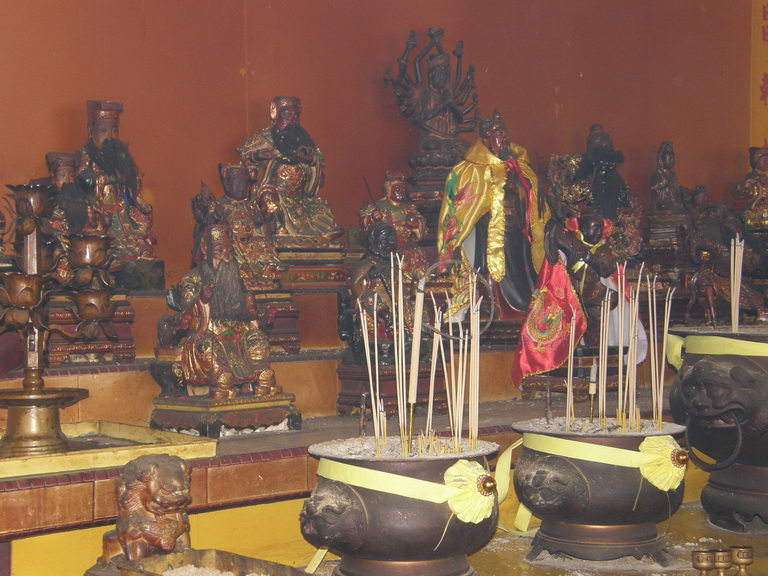 Touring the temple